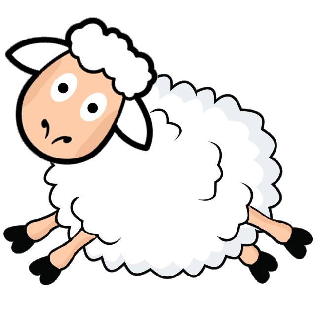 Cartoon Sheep Vector Design Eid Al Adha, Animal, Cartoon.