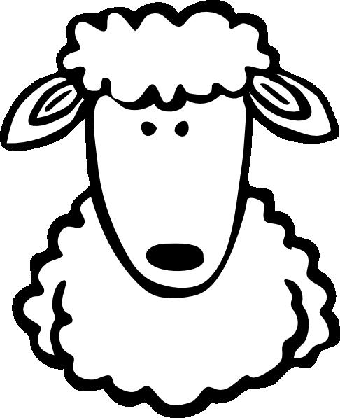 Lamb Clipart Face.