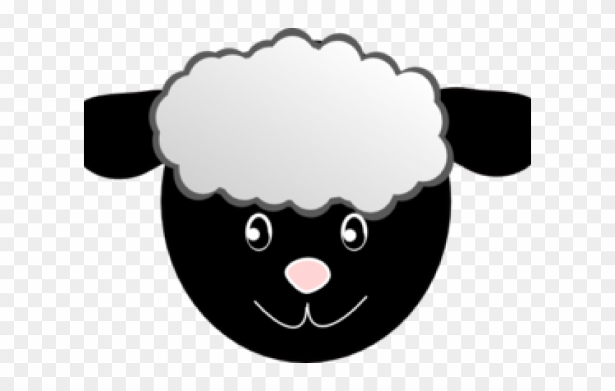 Sheep Clipart Lady.