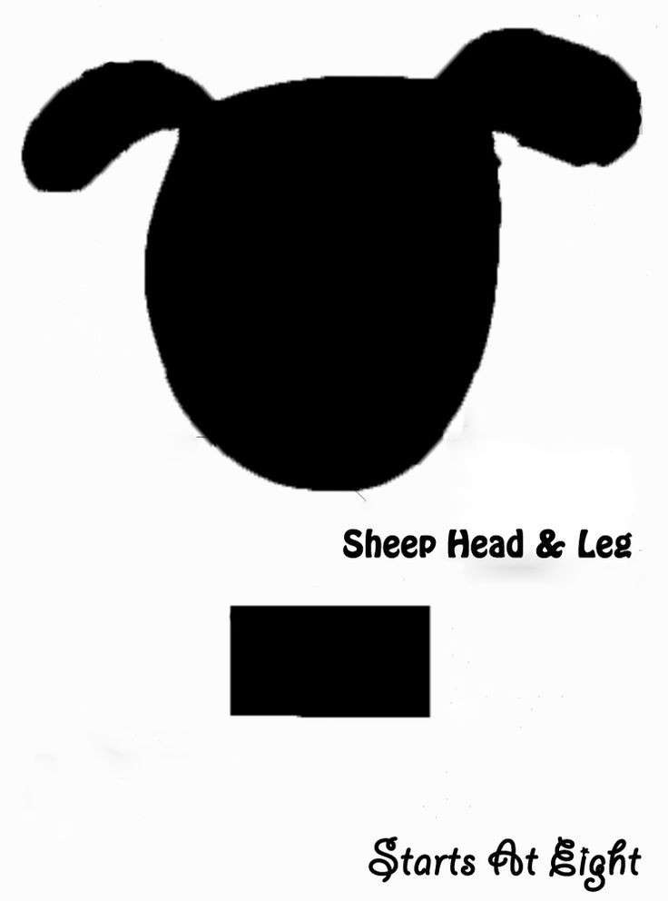 Lamb Head Clipart Outline Clipground