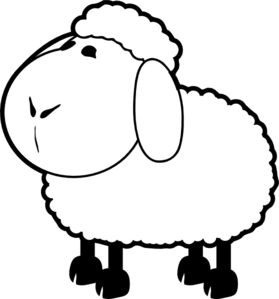 17 Best images about Sheep Clip Art on Pinterest.