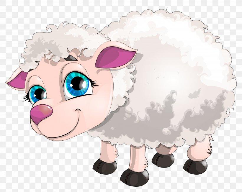 Sheep Goat Clip Art, PNG, 4114x3269px, Sheep, Art, Cartoon.