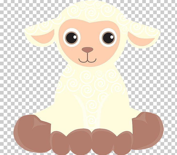Cute Cartoon Lamb PNG, Clipart, Animals, Cartoon, Cartoon.