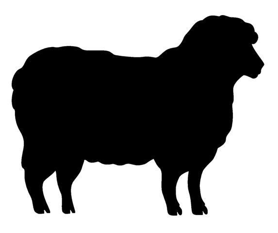 Lamb Silhouette Vector at GetDrawings.com.