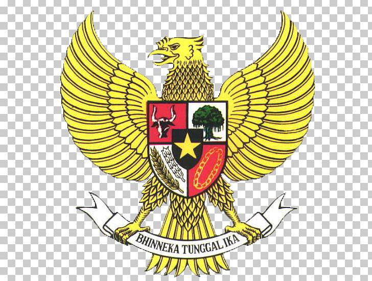National Emblem Of Indonesia Pancasila Garuda PNG, Clipart.