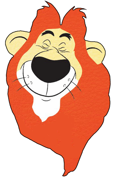 Lambert the Sheepish Lion Clipart.