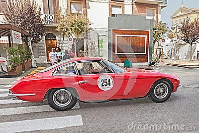 Lamborghini 350 GT (1965) Editorial Stock Photo.