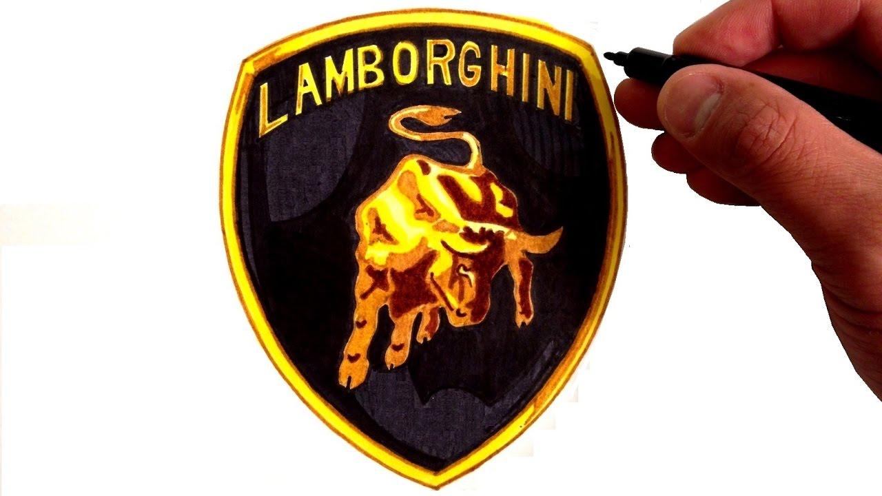 How to Draw the Lamborghini Logo.