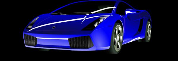 Lamborghini car clipart.