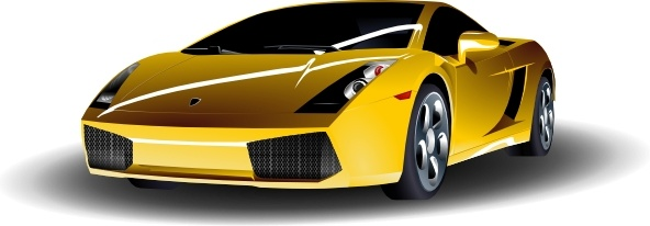 Lamborghini clip art Free vector in Open office drawing svg ( .svg.