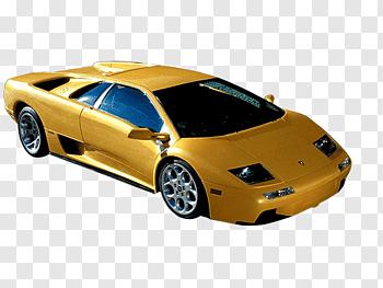 2001 Lamborghini Diablo cutout PNG & clipart images.