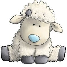 Baby Lamb Clipart.