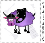 Lambskin Clipart EPS Images. 5 lambskin clip art vector.