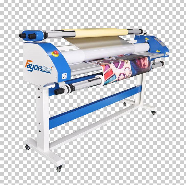 Machine Lamination Cold Roll Laminator Printing Press PNG.
