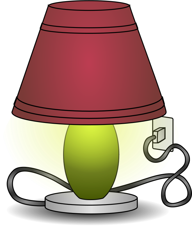 Free Clipart: Lamp.
