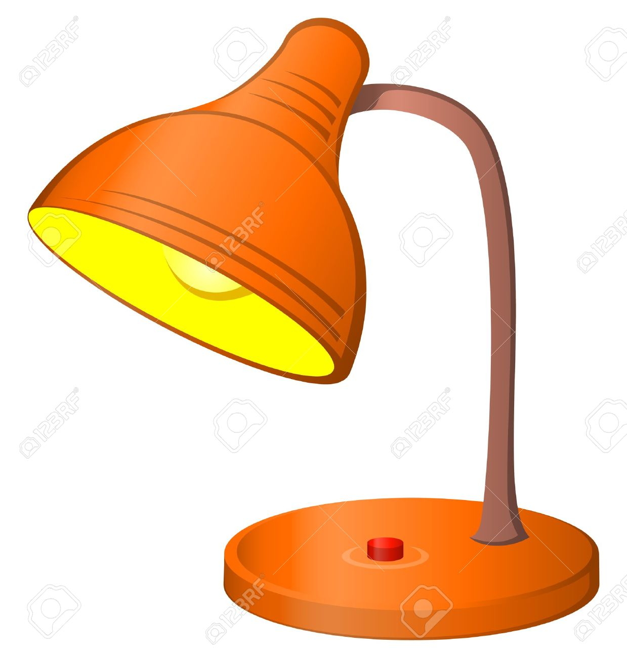 3294 Lamp free clipart.