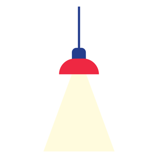 Office hanging lamp clipart.