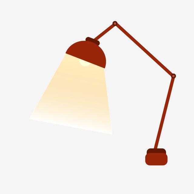 Office Learning Desk Lamp Illustration, Folding Table Lamps.