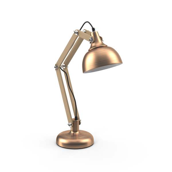 Copper Table Lamp PNG Images & PSDs for Download.