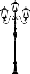 Old Lamp Post Clipart.