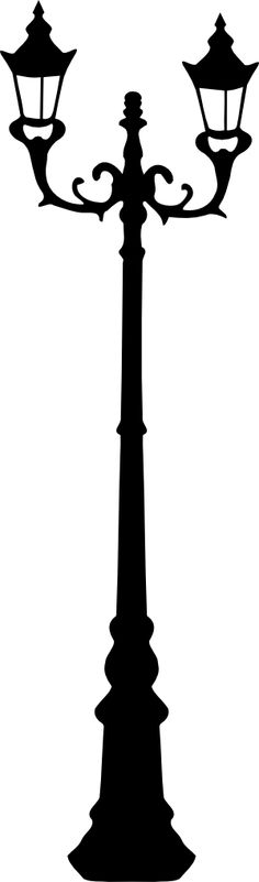 Transparent background old lamp post lantern free clipart.