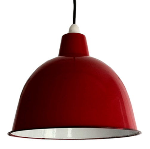Cloche Enamel Light Shade.