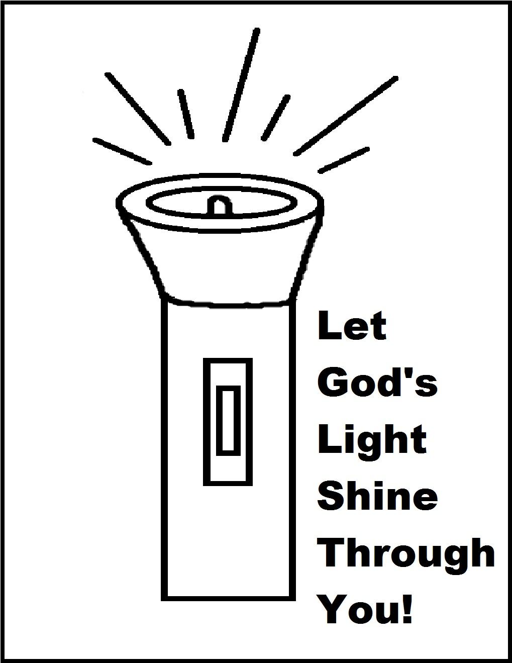 lamp shine clipart