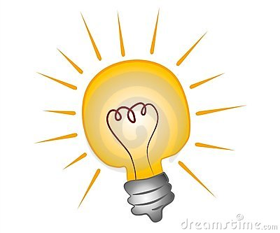 Business Bright Lights Clipart.