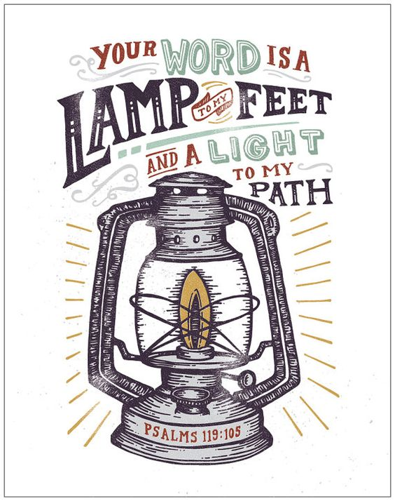 Lamp to my feet.