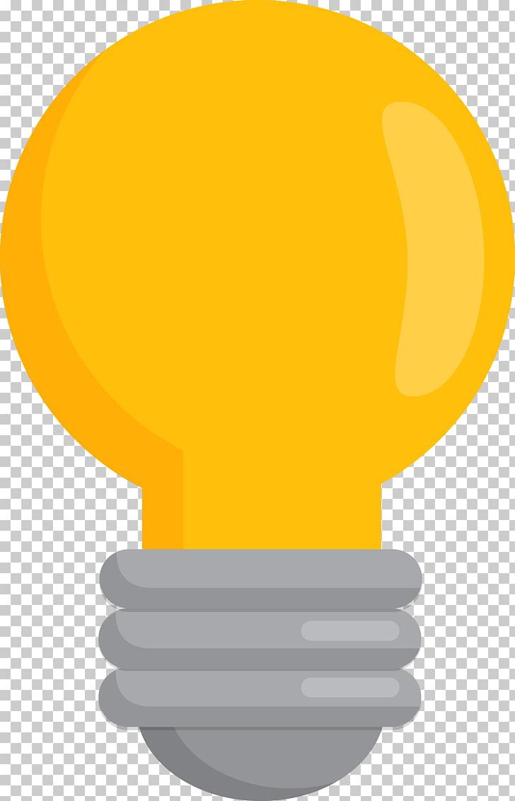 Light Euclidean Lamp, bulb, yellow light bulb PNG clipart.