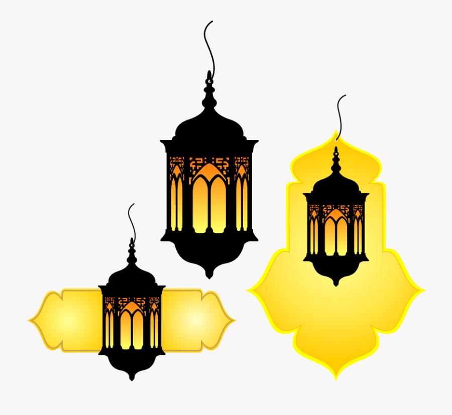 Quran Vintage Muslim Lamp Vector Islam Hand.