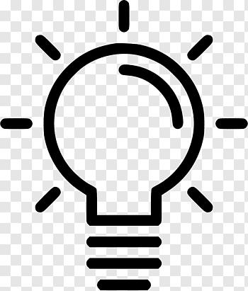 Lightbulb, Incandescent light bulb Computer Icons Lighting.