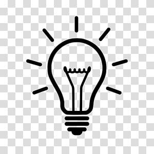Flatjoy Circle Icons, Lightbulb, yellow bulb icon.
