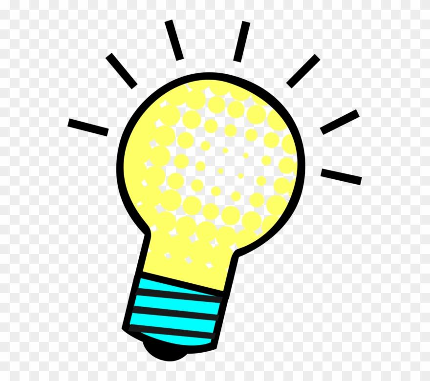 Vector Illustration Of Electric Light Bulb Symbol Of.