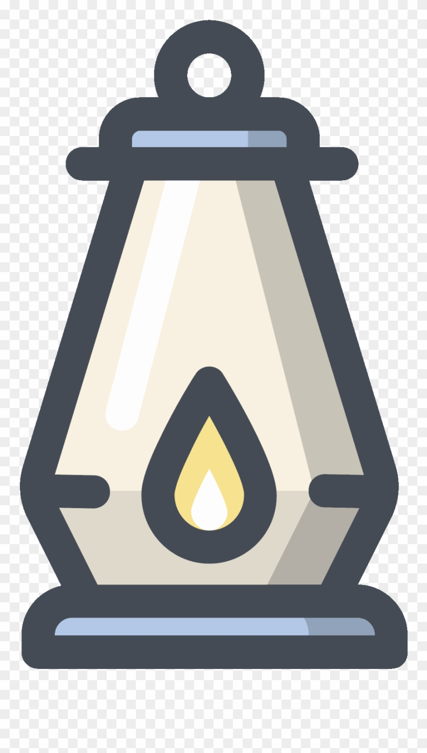 Oil Lamp Icon.