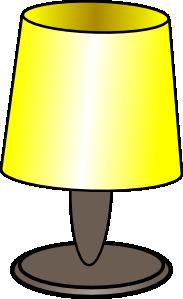 Sheikh Tuhin Table Lamp Clip Art at Clker.com.