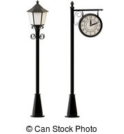 Lamppost Clipart and Stock Illustrations. 3,174 Lamppost.