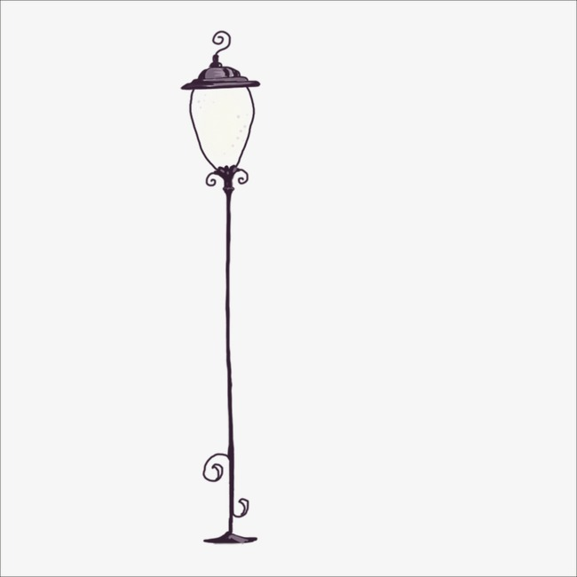 Lamp post clipart 6 » Clipart Station.