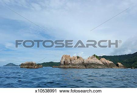 Stock Photography of Pegadung Reef Beach Lampung x10538991.