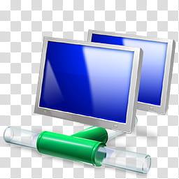 Windows Live For XP, LAN connection icon transparent.