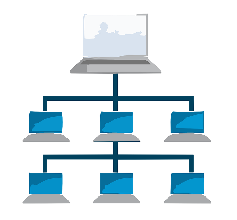 Computer Network Tiered.