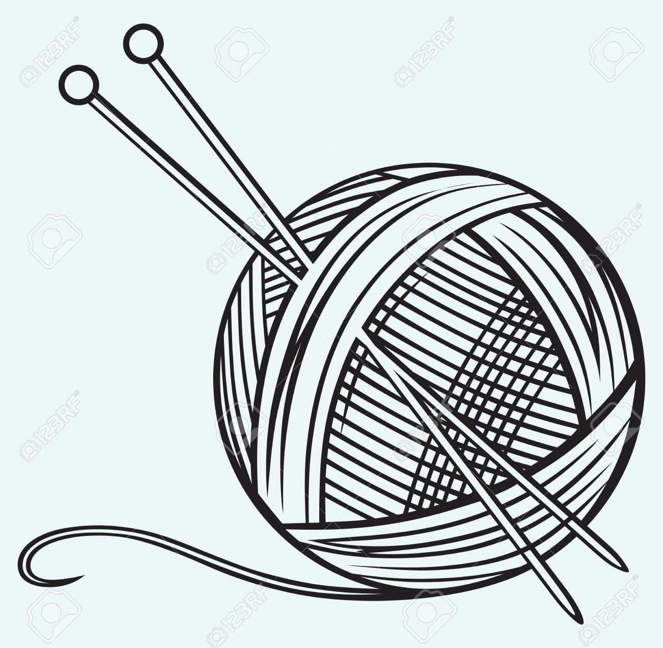 8,704 Yarn Cliparts, Stock Vector And Royalty Free Yarn Illustrations.