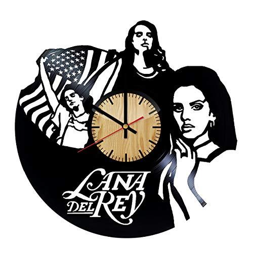 Amazon.com: Lana Del Rey Music Vinyl Wall Clock.