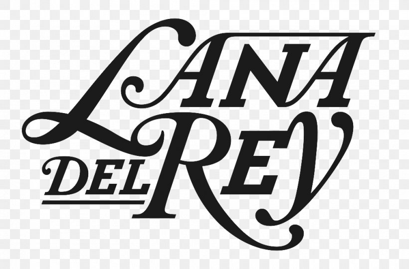 Logo Font Typography Lana Del Ray Sort, PNG, 1010x666px.