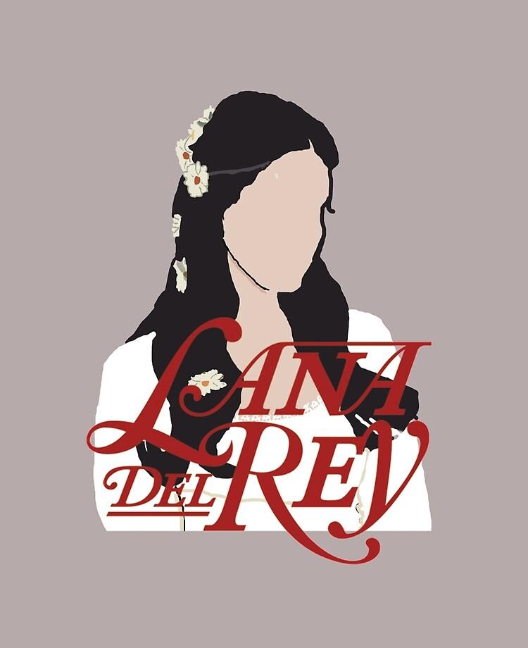Lana Del Rey Lust For Life Logo.