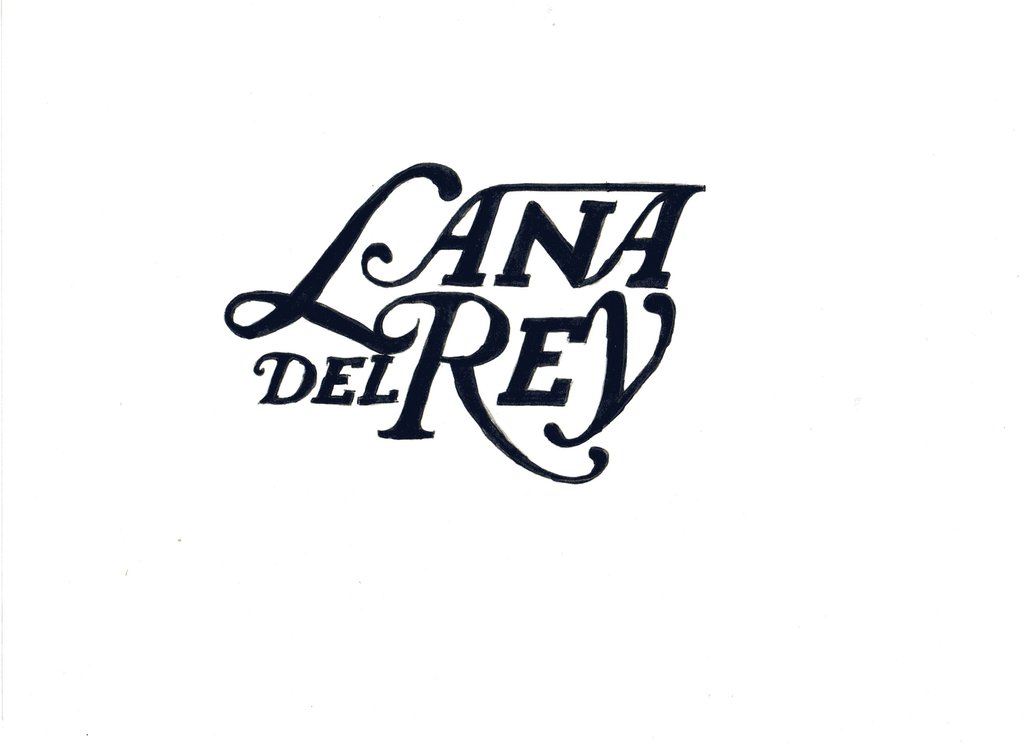 Lana del Rey Logo.