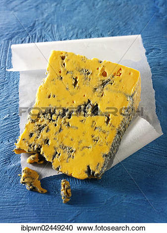 "Stock Photography of ""British Blue cheese, Blacksticks from."