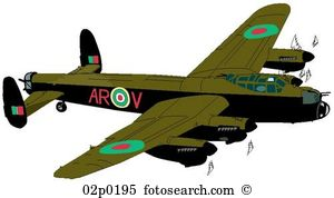 Avro lancaster Clip Art Illustrations. 3 avro lancaster clipart.