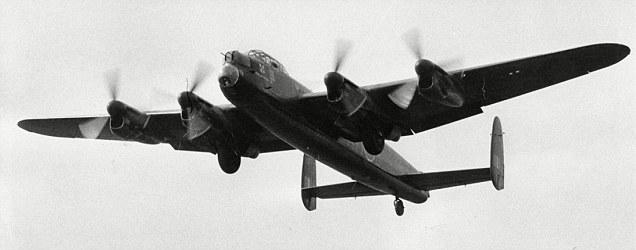 Lancaster bomber clip art.