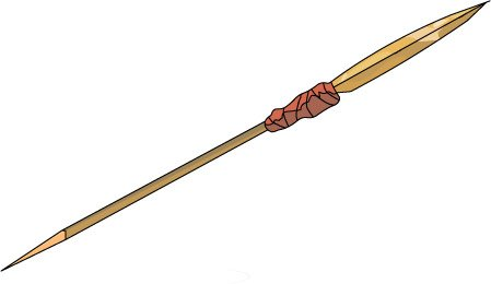Spear Clipart.